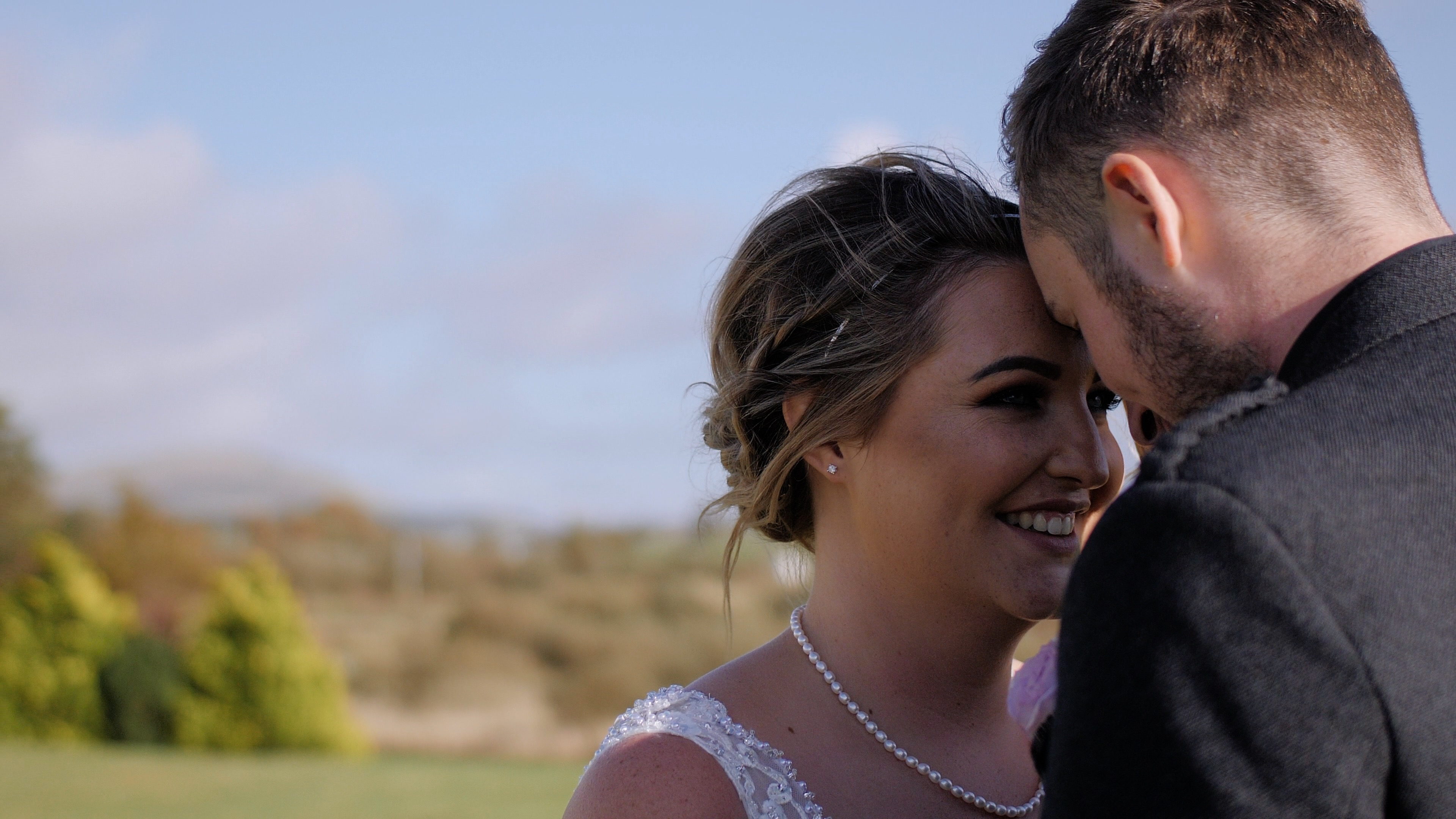 Bex and Ben | lochside wedding